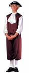 Economy Adult Colonial Man Costume