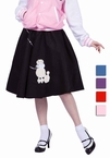 Economy Adult Poodle Skirt - More Colors