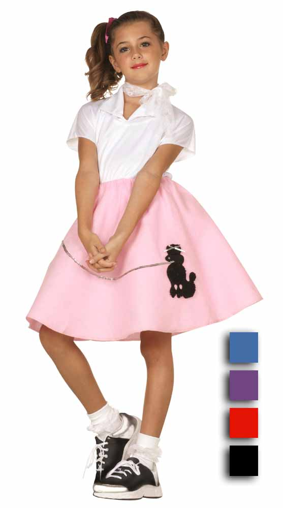 Economy Childs Poodle Skirt