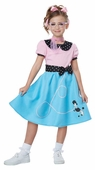 Economy Child's 50's Blue Poodle Skirt