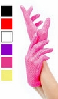 Fishnet Wrist Length Gloves - More Colors
