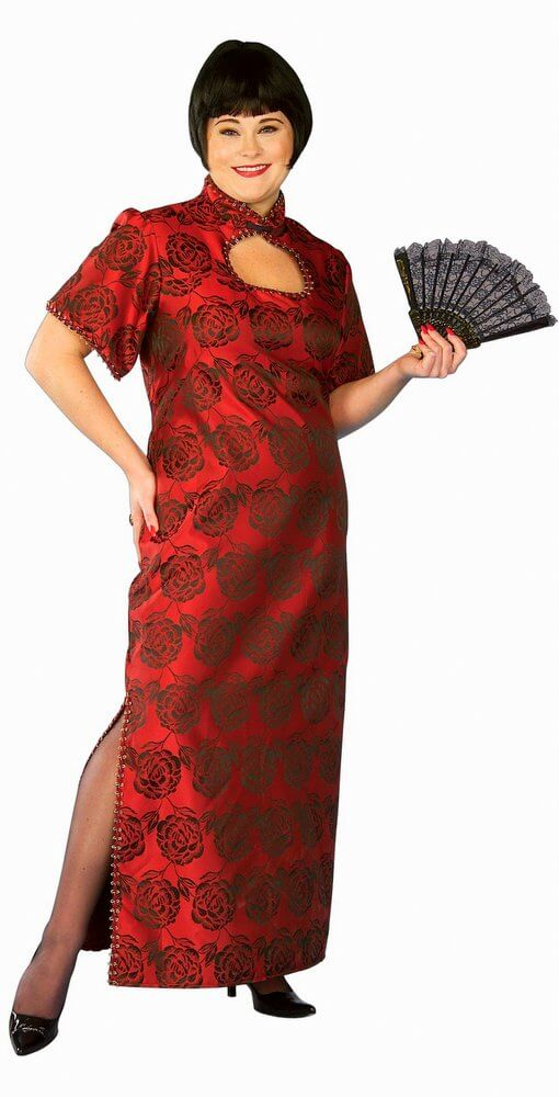 Fortune Cookie Chinese Costume (Plus Size)  sc 1 st  Candy Apple Costumes & Fortune Cookie Chinese Costume (Plus Size) - Candy Apple Costumes ...