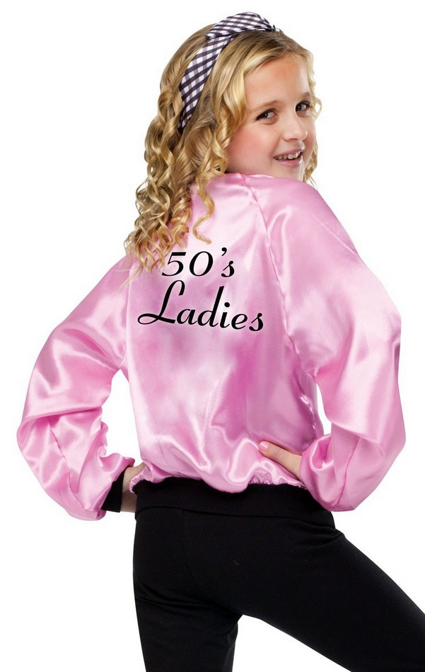 This Pink Ladies Jacket gets you into character as one of the
