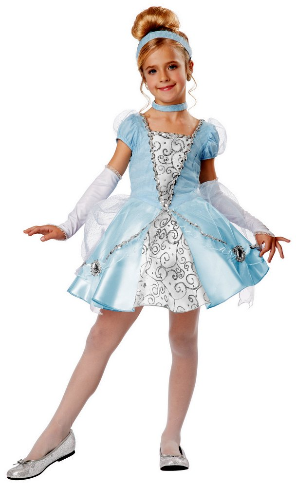 girls deluxe cinderella costume