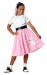 Girls' Pink Poodle Skirt