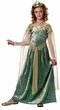 Girls' Queen Guinevere Medieval Costume