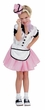 Girls' Soda Pop Waitress Costume, Size Small