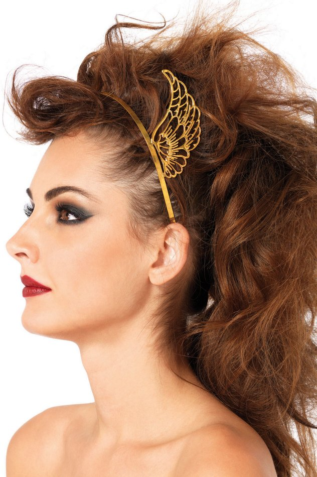 Gold Pegasus Wings Headband - Goddess Costumes - Candy Apple Costumes -  Greek   Roman Costumes 78240a2c2bc
