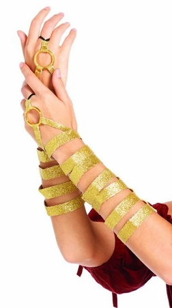 Gold Wrap Armbands