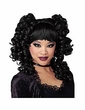 Goth Curls Black Wig