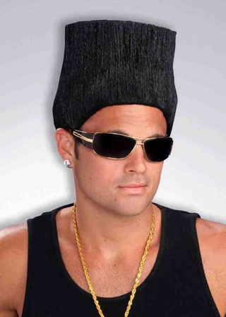 Hip Hop High Top Fade Wig Candy Apple Costumes