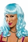 Icy Blue Party Girl Wig