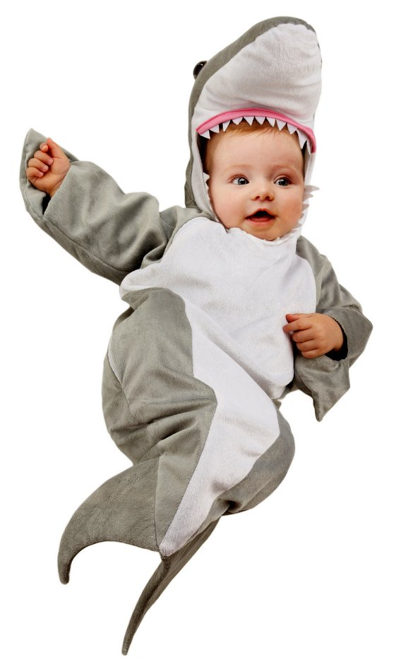 Infant Shark Bunting Costume Candy Apple Costumes Kids Animal