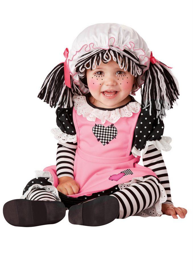 38641c8964e8 Infant Toddler Baby Rag Doll Costume - Candy Apple Costumes - Rag ...
