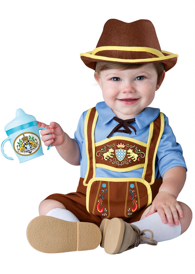 29226fc5e6a6 Infant Toddler Little Lederhosen Costume - Oktoberfest Costumes ...