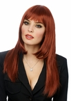 International Beauty Natural Red Wig