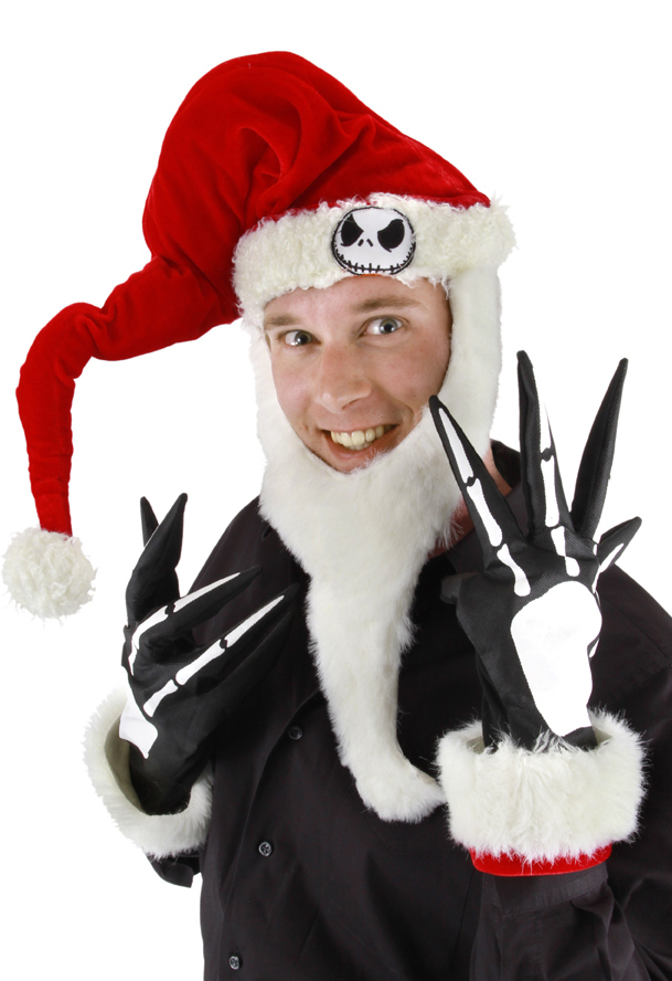 Jack Skellington Santa Costume Kit  sc 1 st  Candy Apple Costumes & Jack Skellington Santa Kit - Nightmare Before Christmas Costumes ...