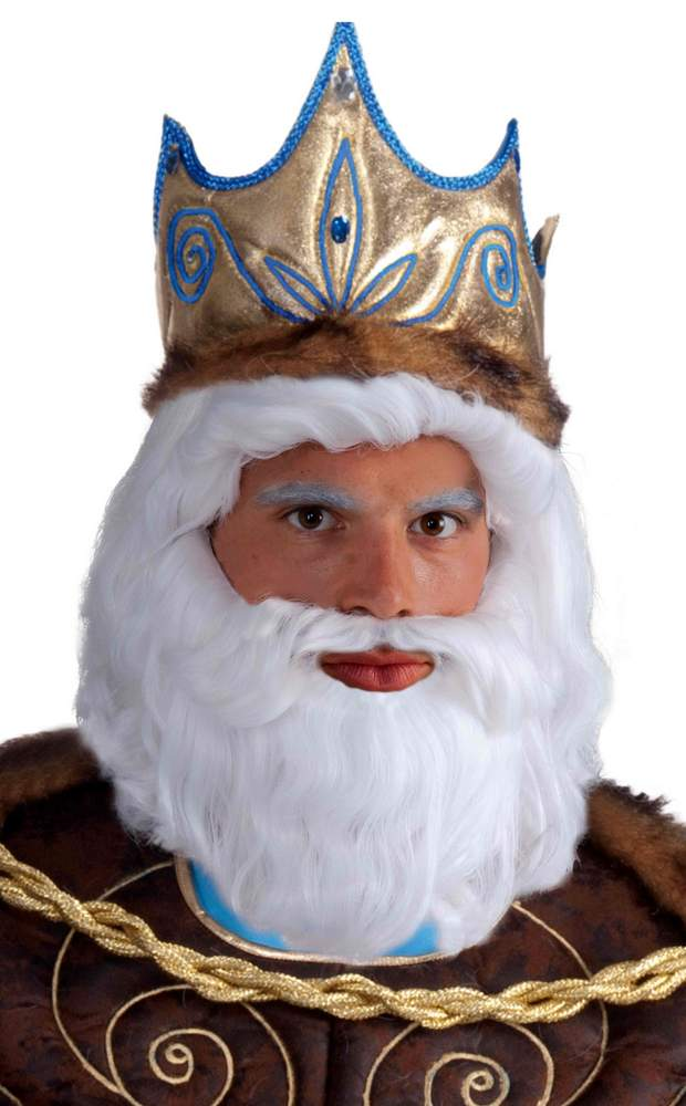 king neptune white wig and beard candy apple costumes beards