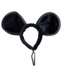 Large Black Mouse Ears