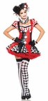 Leg Avenue Sexy Harlequin Clown Adult Costume