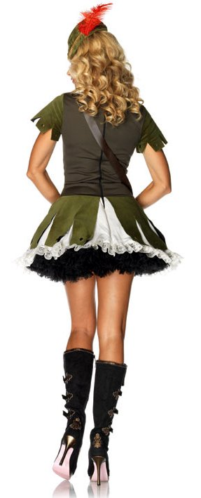 ... Leg Avenue Thief of Hearts Robin Hood Costume Size S/M  sc 1 st  Candy Apple Costumes & Leg Avenue Thief of Hearts Robin Hood Costume - Candy Apple Costumes ...