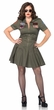 Leg Avenue Top Gun Women's Flight Dress Plus Size Costume