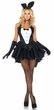 Leg Avenue Tux & Tails Bunny Sexy Adult Costume, Size S/M