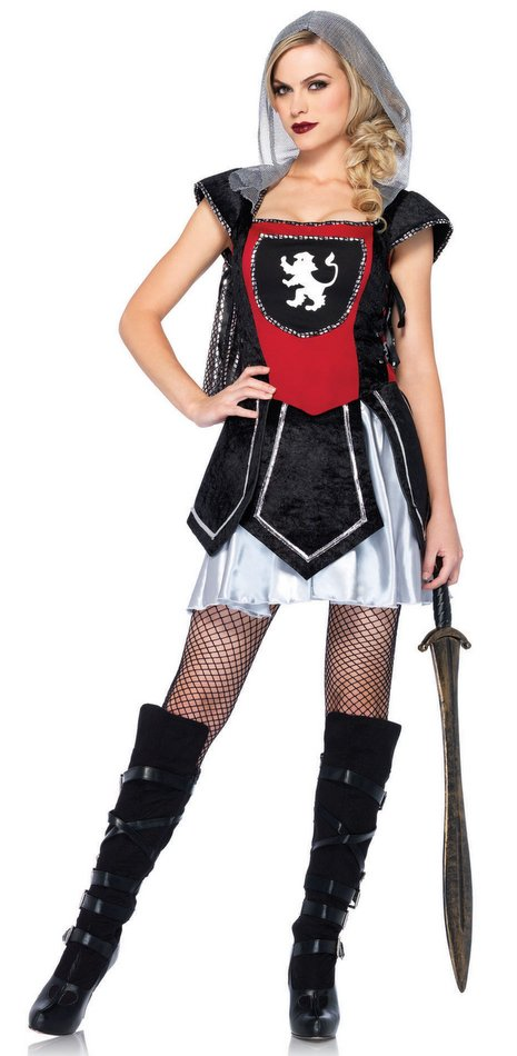 Leg Avenue Womenu0027s Royal Knightess Costume  sc 1 st  Candy Apple Costumes & Leg Avenue Womenu0027s Royal Knightess Costume - Candy Apple Costumes ...