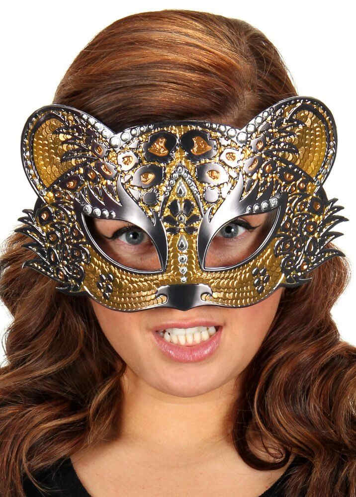 Leopard Sparkle Mask Candy Apple Costumes Animal Costumes