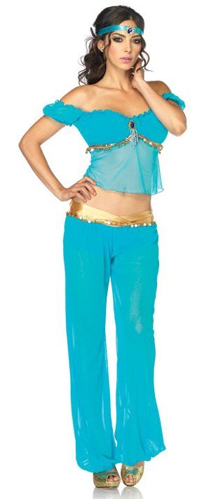 licensed disney jasmine adult costume