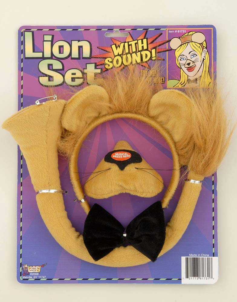 Lion Costume Kit & Lion Costume Kit - Candy Apple Costumes - Animal Costumes