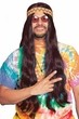 Long Brown Hippie Wig