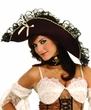 Women's Maiden of the Sea Pirate Hat