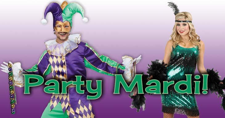 ce5341df714 Fun Costumes for Mardi Gras for Adults and Kids