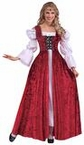 Medieval Lace-up Gown Costume - Adult and Plus Size