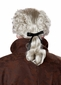 Men's 18th Century Gray Peruke Wig