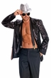 Men's Black Sequin Jacket