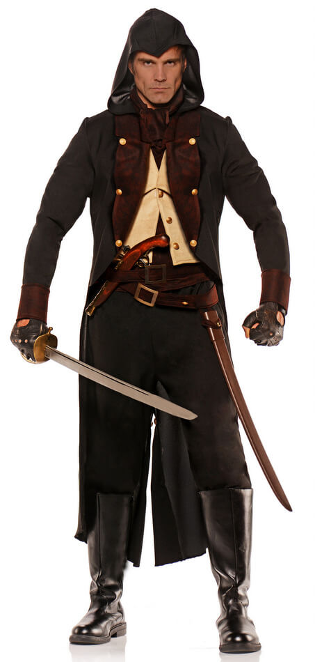 Menu0027s XXL Colonial Mercenary Costume  sc 1 st  Candy Apple Costumes : xxl costumes  - Germanpascual.Com