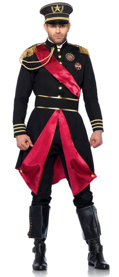 Lovely Menu0027s Deluxe Military General Costume