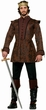 Men's Medieval King's Coat Costume