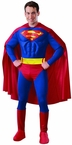 Men's Muscle Chest Superman Costume