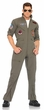 Men's Plus Size Top Gun Flight Suit