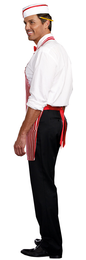 Menu0027s Retro Diner Dude Costume Menu0027s Retro Diner Dude Costume ...  sc 1 st  Candy Apple Costumes : 50 costume  - Germanpascual.Com