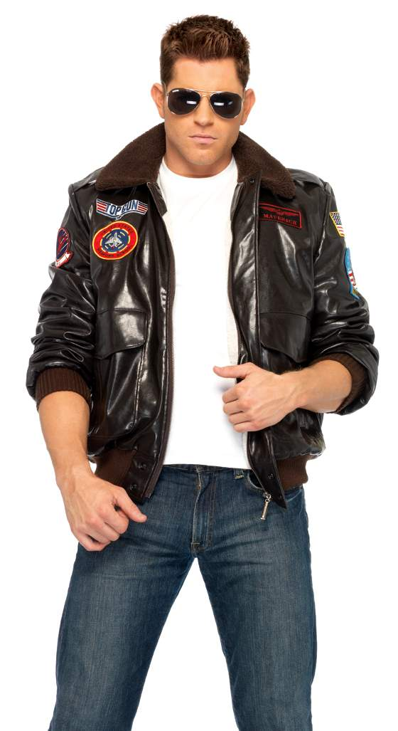 Menu0027s Top Gun Bomber Jacket  sc 1 st  Candy Apple Costumes : top gun costume for men  - Germanpascual.Com