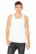 Men's Classic White Ribbed Tank Top
