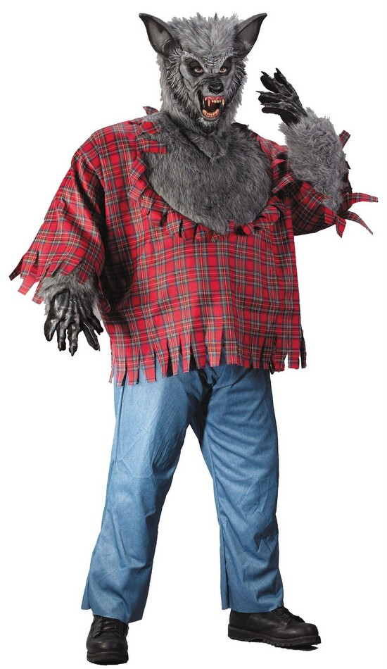 Menu0027s Plus Size Werewolf Costume  sc 1 st  Candy Apple Costumes & Menu0027s Plus Size Werewolf Costume - 3X and 4X Costumes
