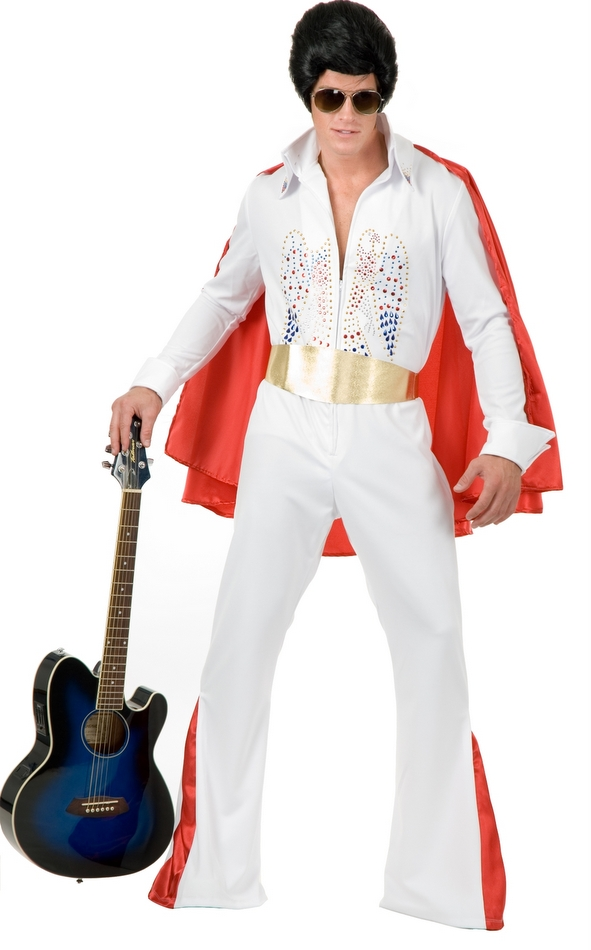 Rock Star Costume Men Plus Size - Candy Apple Costumes