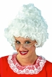 Mrs. Claus White Wig