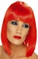Neon Red Glam Short Wig