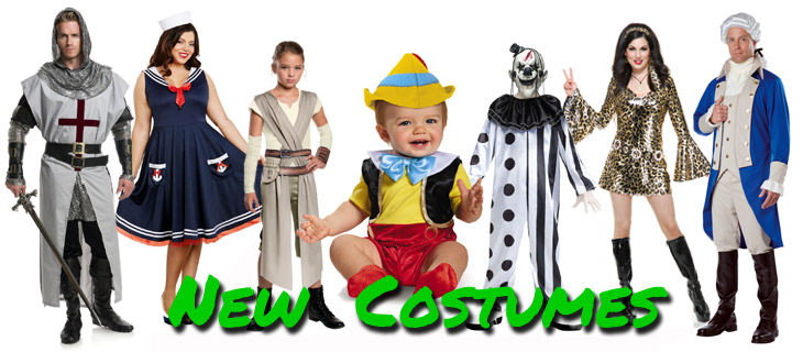 New Costumes for Halloween 2017 - Candy Apple Costumes